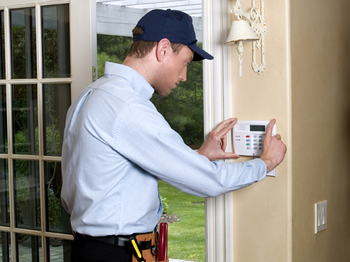 Installation of the alarm system